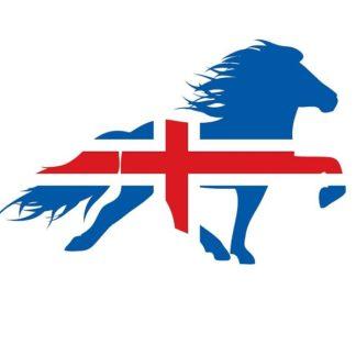 Stickers IJslandse Paarden