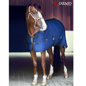 Catago Cooler navy paardendeken