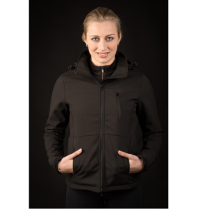 Softshell jas Chicago zwart