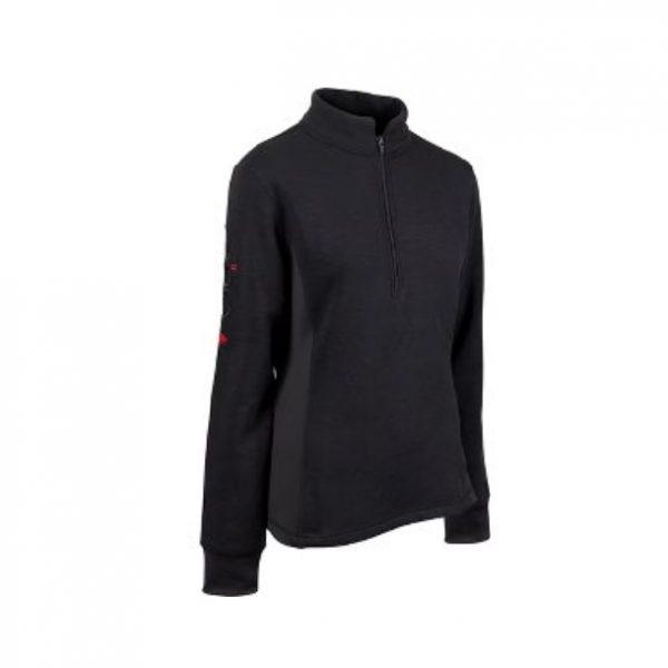Catago Arctic fleece shirt zwart