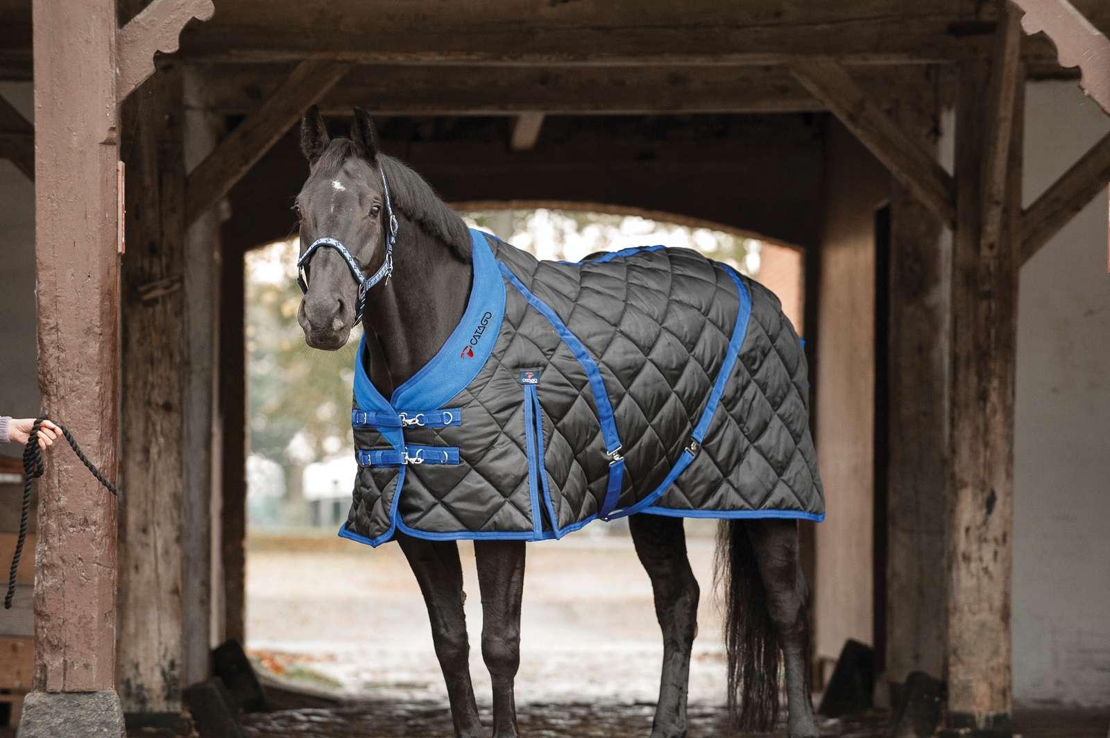 Catago Staldeken blauw zwart 300 gram
