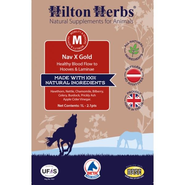 Hilton Herbs Nav X Gold hoefbevangenheid