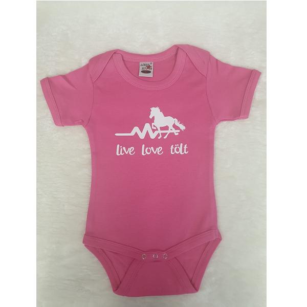 Baby rompertje live love tolt