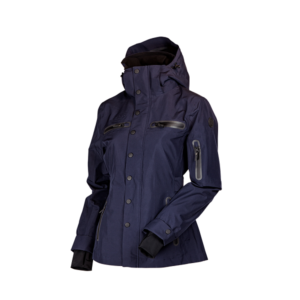 Uhip trench coat navy voorzijde