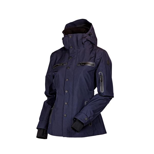 Uhip trench coat navy voorzijde