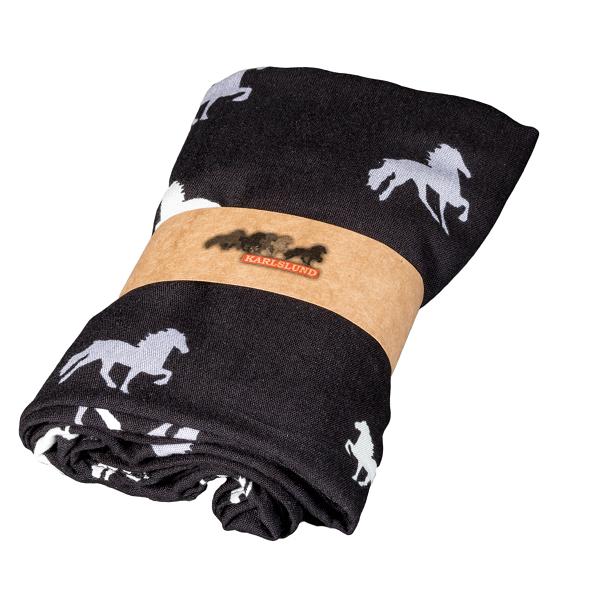 Karlslund sjaal zwart