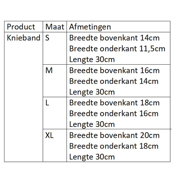 FIR-Tech knieband