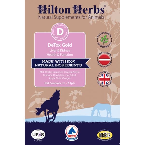 Hilton Herbs Detox Gold