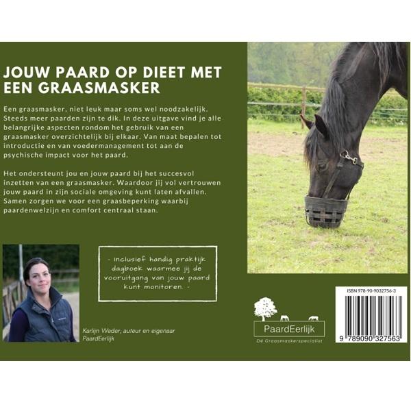 Jouw paard op dieet met een graasmasker