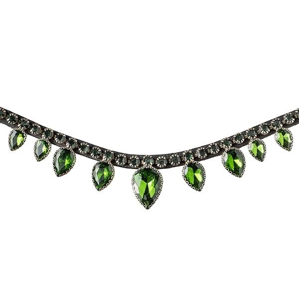 Equitec Frontriem Dark Green Diamond Drops