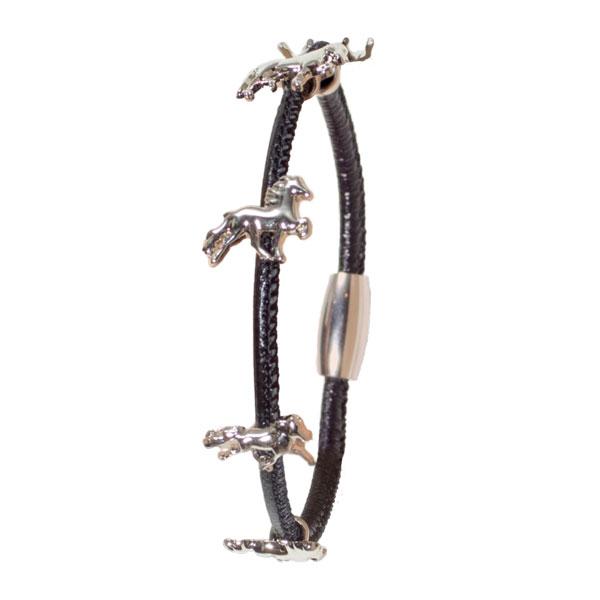 Karlslund armband met IJslandse paarden