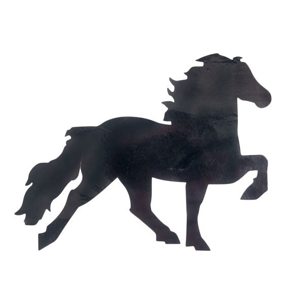 Karlslund IJslandse paard sticker groot