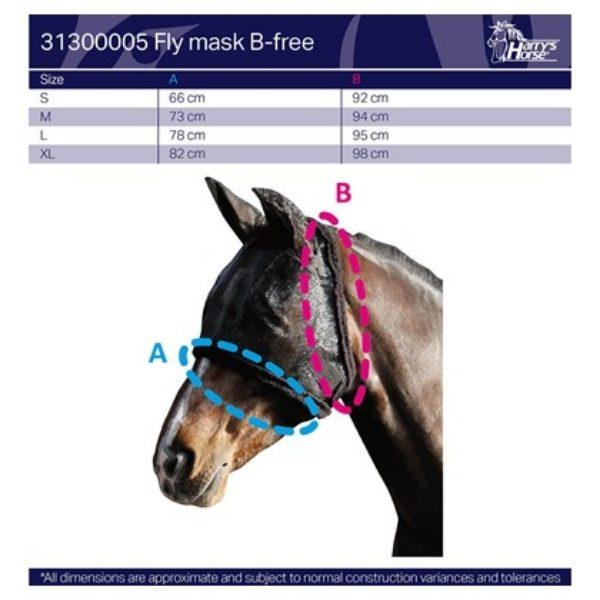 Vliegenmasker B-free